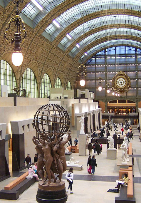 Inside the Orsay Museum